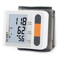 Misuratore Pressione Sanguigna Sfigmomanometro Automatico da Polso LD-750 Bianco