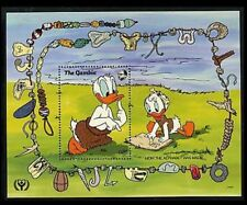 Gambia Disney Stamps - How the Alphabet was made Souvenir sheet - MNH