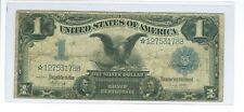 1899 $1 *STAR* Mule ((Black Eagle)) Silver Certificate Elliott-White 25 Known!