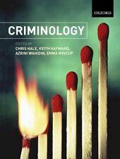 Criminology by Oxford University Press (Paperback, 2005)