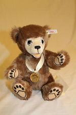 """11"""" STEIFF Berryman Teddy bear EAN605097 with Cartoon 1996 1383/7000"""