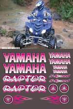 Yamaha Raptor PINK Digital Full Color 16pc ATV Decals Stickers Graphics 660R,