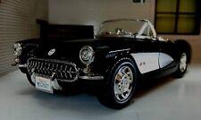 G LGB 1:24 Escala 1957 Maisto Chevrolet Corvette Cabrio de metal V Detallado