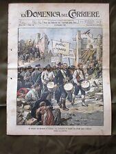 La Domenica del Corriere 24 Settembre 1905 Terremoto Calabria Rovine Porta Pia