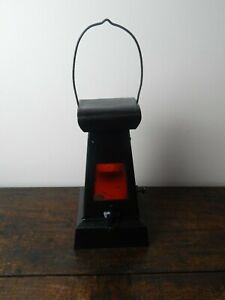 WWII Oil Lantern/Lamp - Ministry of Supply - 1941 Patent