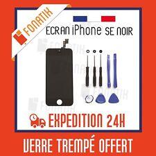 ECRAN LCD POUR IPHONE SE NOIR + VITRE TACTILE MONTES SUR CHASSIS + KIT OUTILS