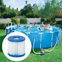 2 Pack Summer Waves Swimming Pool Pump Filter Cartridge Type D Pool Filters
