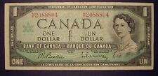 Canada 1967 BC-45b-i $1.00 Note M/P2088804