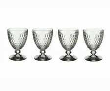 Villeroy & Boch - set of 4 x Boston Glass Goblet  new in box Wine or Water V&B