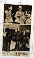 1920 Manchester Students Open-air Carnival Shrove Tuesday Fairies And Fireman