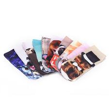 Cute Women Men Unisex 3D Cartoon Funny Dog Animal Printed Low Cut Ankle Socks WG