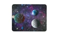 Purple Solar System Planets Mouse Mat Pad - Space Galaxy Gift Computer #13270