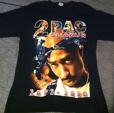 NEW Vtg 90S 2Pac Shirt ONLY GOD CAN JUDGE ME Tupac Biggie 2 Sided Death Row Rap