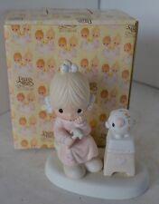 Precious Moments 1980 Figure Love Cannot Break A True Friendship With Box