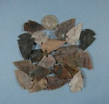 ARROWHEAD SPEARHEAD LOT COLLECTION & OLD VINTAGE 1937 BUFFALO NICKEL