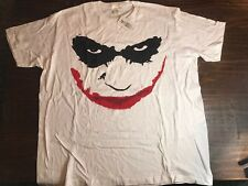 Jokers Smile T-Shirt Cotton 2XL Batman Movie Heath Ledger Hot Topic