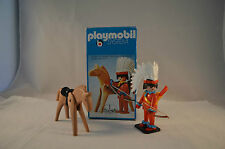 Playmobil 3351 Western indian with accessoires & horseKlicky 1 OVP mint in box