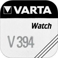 2x Varta Watch V 394 Uhrenzelle Knopfzelle SR936SW 67 mAh Silber-Oxid 1 er BL