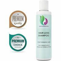 Hair Loss Shampoo Thinning Hair + DHT Remover Follicle Stimulation 100% NATURAL