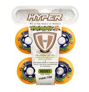 Hyper Indoor-Rollen für Inlineskates Formula G Era, Größe 72/76/80 mm , Inline