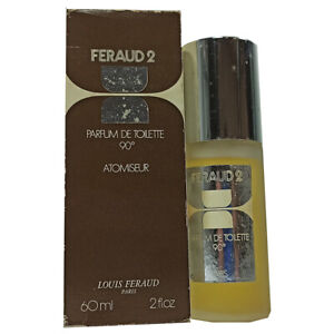 Feraud 2 Parfum De Toilette 90° 60 ML Woman Perfume Vintage 828