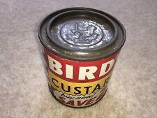 More details for c1950s-60s vintage bird's custard buy now save 2d custard 11ozs powder tin