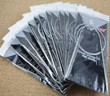 80cm 11 Size Stainless Line Valum Head Ring Needles Set Circular Knitting Needle