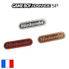 Logo GAME BOY ADVANCE SP Sticker Nintendo GBA SP Coque