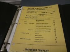Waterous Pump Manual Cp 1