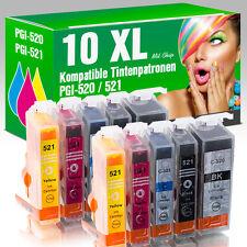 10 Druckerpatronen für Canon MP 550 mit Chip