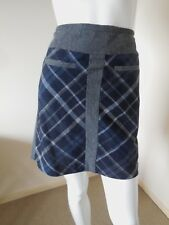 AUTOGRAPH  GREY CHECKED SKIRT 12    MADE IN TURKEY       LOW PRICES ALWAYS