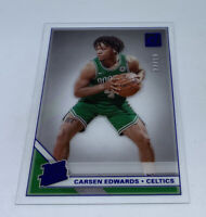 2019-20 Panini Clearly Donruss Blue Carsen Edwards Rated Rookie #22/99