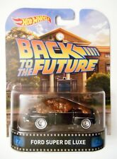 HOT WHEELS BACK TO THE FUTURE FORD SUPER DE LUXE RETRO ENTERTAINMENT