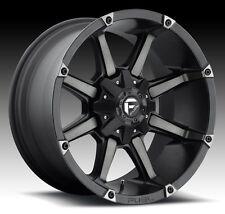 Fuel Coupler 20x10 8x6.5 ET-24 Black Machined Wheels (Set of 4)