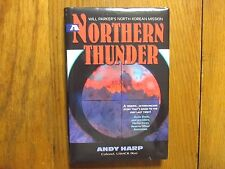 "ANDY   HARP   Signed   Book (""NORTHERN   THUNDER""-2007  First  Edition  Hardback"