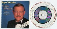 Roger Whittaker 3-INCH Promo CD FESTLICHE WEIHNACHT Intercord-Adapter Cardsleeve