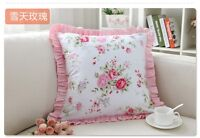 Princess Girl Pink Pillow Cushion Cover*Lace French Country Cottage Shabby Chic