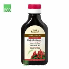 Green Pharmacy Burdock Oil with Red Pepper 100ml Stimulates Hair Growth