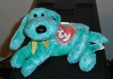 Ty Beanie Baby ~ DIDDLEY the Green Dog ~ MINT with MINT TAGS ~ RETIRED