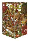 JIGSAW PUZZLE HY08832 - Heye Puzzles - Triangular , 1500 Pc - Funny Farm, Ryba