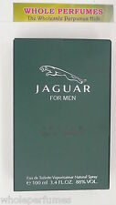 JAGUAR FOR MEN 3.3/ 3.4 OZ/ 100 ML EAU DE TOILETTE EDT SPRAY TESTER NO CAP NEW