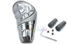 Gear knob SILVER & CHROME MITSUBISHI LANCER race shifter stick universal car van