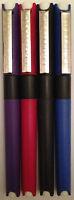DOLLAR SP-10 TRADITIONAL FOUNTAIN PEN- RED, PURPLE,  BLUE &  BLACK BARREL-DOLLAR
