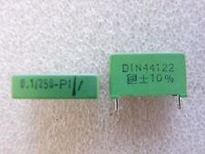 2 condensateurs 0,1uF 100nF 250V ERO MKT1822