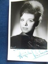 Secret Army ANGELA RICHARDS hand signed vintage photo