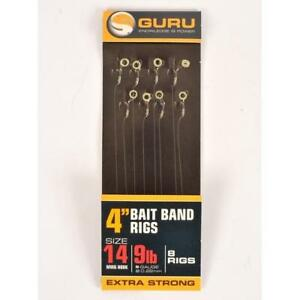 """GURU MWG and GPW bait band rigs 4"""" and 15"""", Various, Free Postage"""