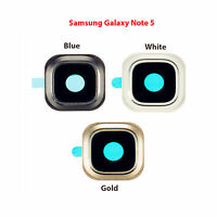OEM Camera Glass Lens Cover Rear Frame Holder For Samsung Galaxy Note 5 N920 NEW