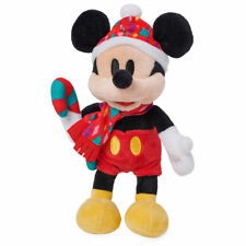 "DISNEY STORE MICKEY MOUSE HOLIDAY PLUSH 9 1/2""  CHRISTMAS 2018 MINI BEAN BAG NWT"