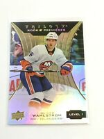 F60388  2019-20 Upper Deck Trilogy #66 Oliver Wahlstrom RC ISLANDERS/999