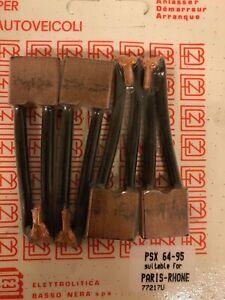 Set 4 Coals Psx 64-95 for Renault R15,R16,R17 Starters Paris Rhone